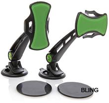 2sets/lot New Hot Sale Gripgo Rotating Car Phone GPS Holder Mount Free CN Post Shipping Wholesale As Seen On TV Only $7.39