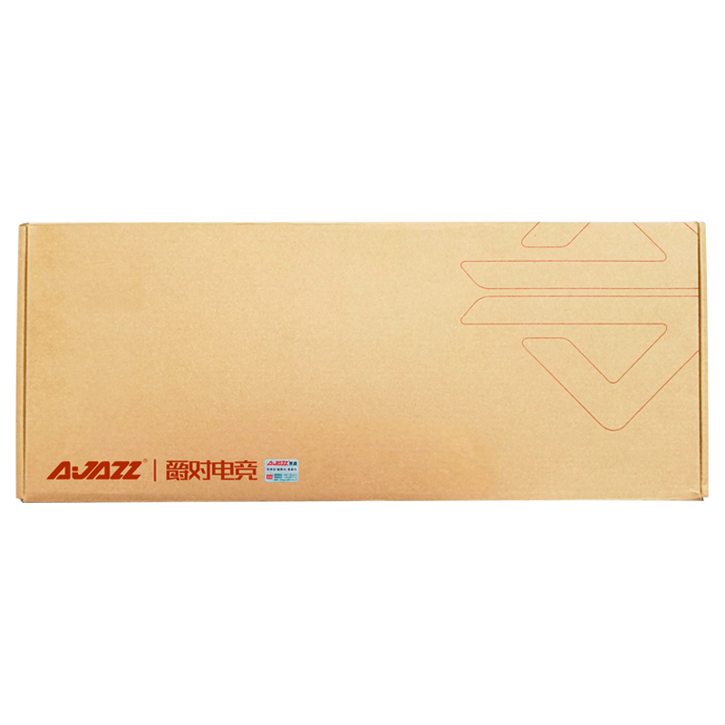Ajazz ROBOCOP Проводная Механическая клавиатура игровая клавиатура подсветка анти-ореолы n-ключ опрокидывание коричневый/черный/красный/синий переключатели
