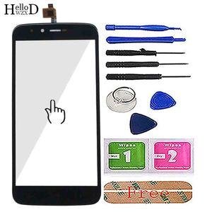 Image 2 - 5.5 ekran ekran dotykowy Panel dla Homtom HT50 HT 50 ekran dotykowy Digitizer przednia szybka z ekranem dotykowym czujnik narzędzie klej chusteczki