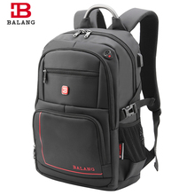 BALANG Brand 2017 HOT Popular College Students Bags for Teenagers Boys Travel Laptop Backpacks 15.6 inch Business Backpack