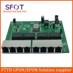 8 ports 10/100/1000M reverse poe smart switch, with Web management, Vlan,