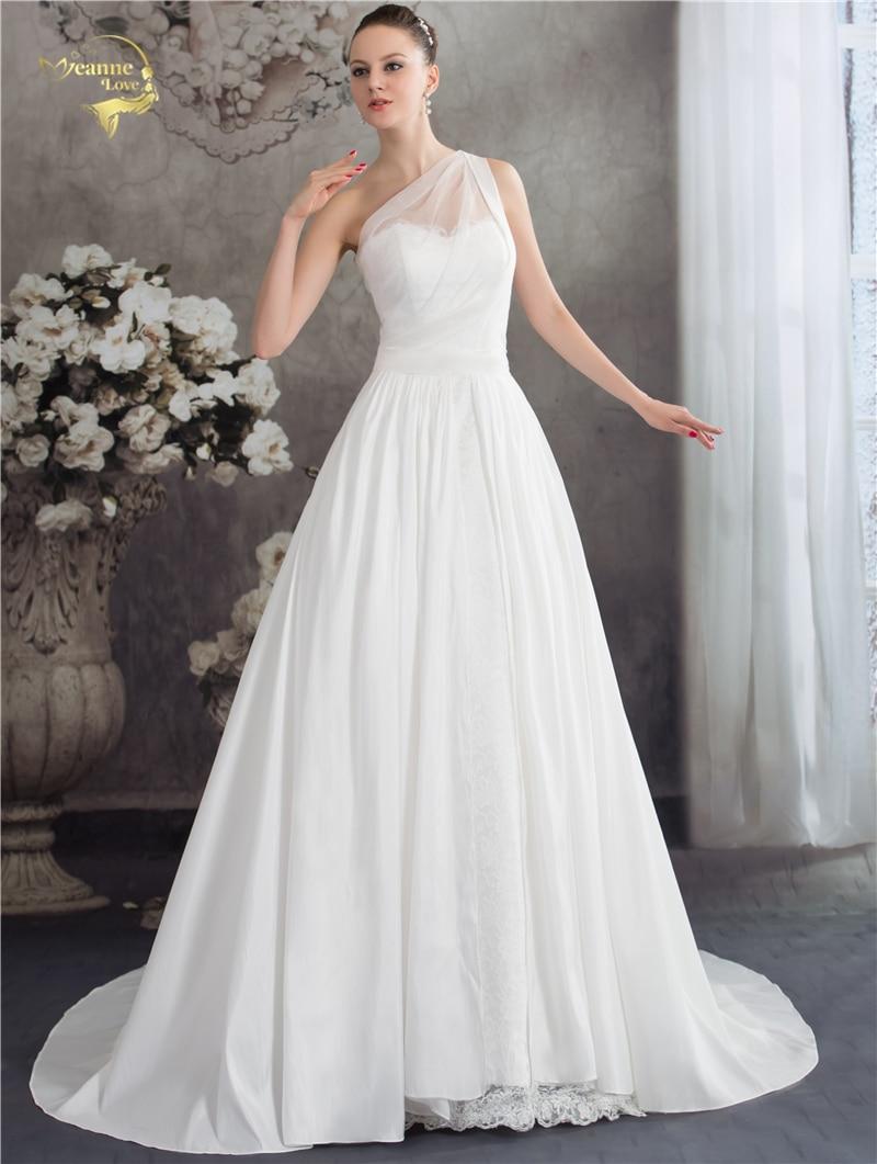 Jeanne Love New Arrival Fashion Vintage Wedding Dresses Bruidsjurken Taffeta Lace Bridal 2017 Robe De Mariage JLOV75936