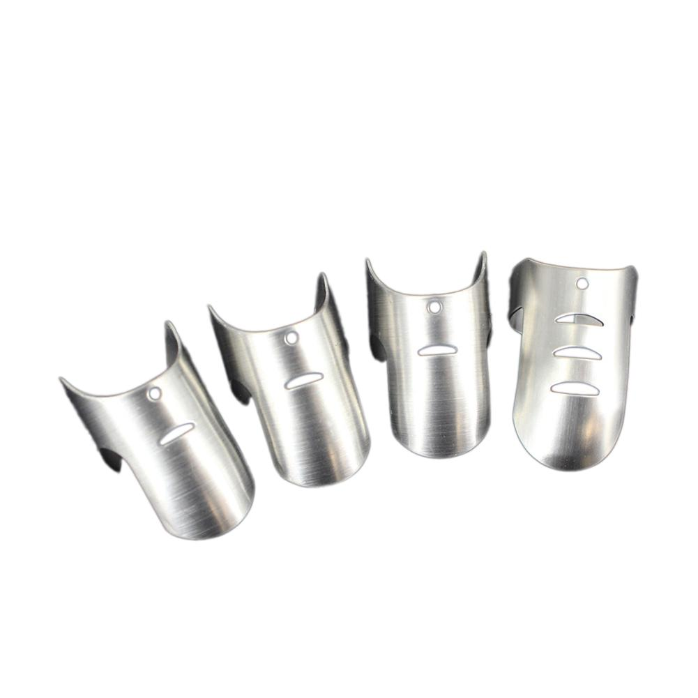 AsyPets 4PCS Creative Stainless Steel Finger Protector Hand Guard for Slice Chop Safe Cooking Tools-20