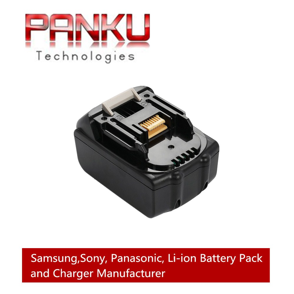 Panku 4 0ah 18v Lithium Ion Replacement Battery For Makita Cordless 18 Volt Bl1815 Bl1840 Bl1830