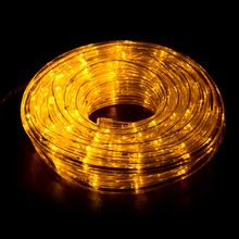 Outdoor Waterproof LED Rope Light String for Street Landscape Yard House Decorations