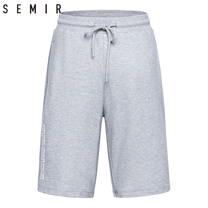 SEMIR Brand Mans Spandex leisure Short male 2018 summer new wear stide Shorts new men Knee Length mens trousers