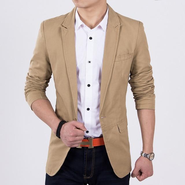 Мужская бизнес самосовершенствование костюм отдыха мужская новая волна чистого цвета костюм jacketdo505