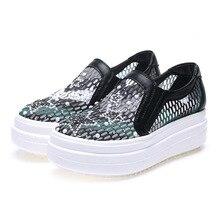 รองเท้าผู้หญิงแฟชั่นใหม่ผู้หญิงรองเท้าสีดำ/สีขาวสหรัฐขนาด4.5-8.5ผู้หญิงรองเท้าตาข่ายอากาศฤดูร้อนรองเท้า6C119-3