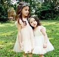 Hot 2017 Girl's summer sweet lace tutu dress , girls party dress , dresses for girls , 5pcs/lot   FCM02