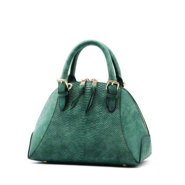 2017 new Women's Satchel shoulder Bag female crocodile pattern shell bag ladies handbag Scrub tote bags for women messenger bags