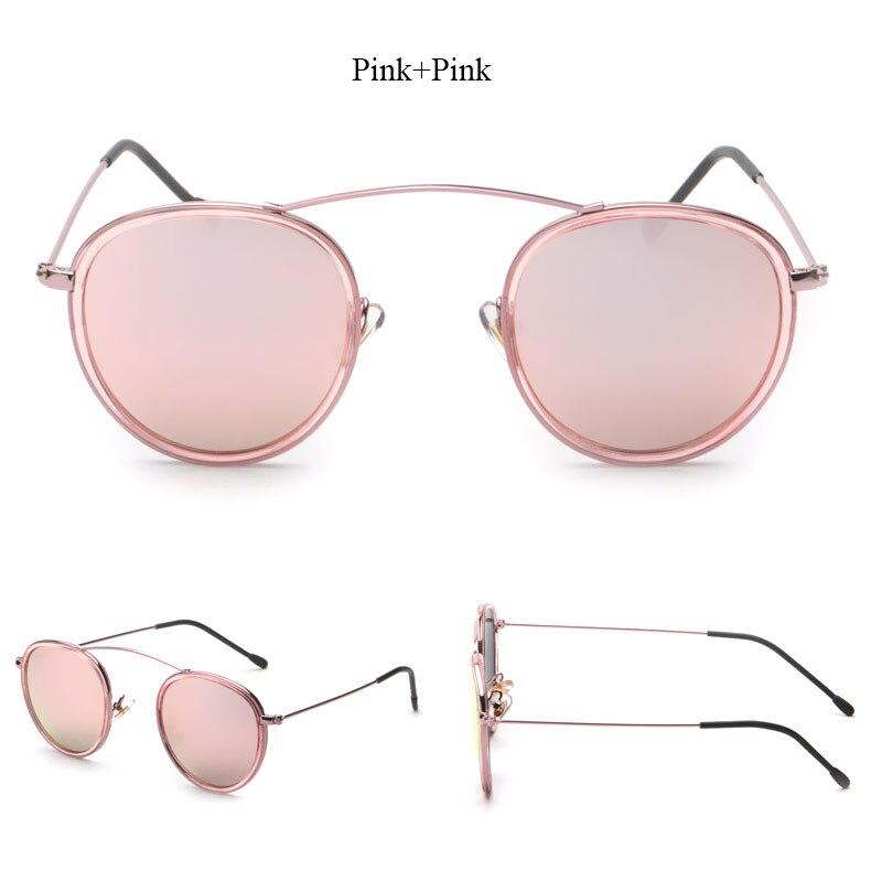 Stilvolle Heiße Runde Objektiv Frauen Sonnenbrille Mode Männer Kreis ...
