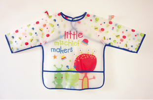 High Quality Wholesale 1lot 8pcs Baby Food Clothing Lovely Cartoon