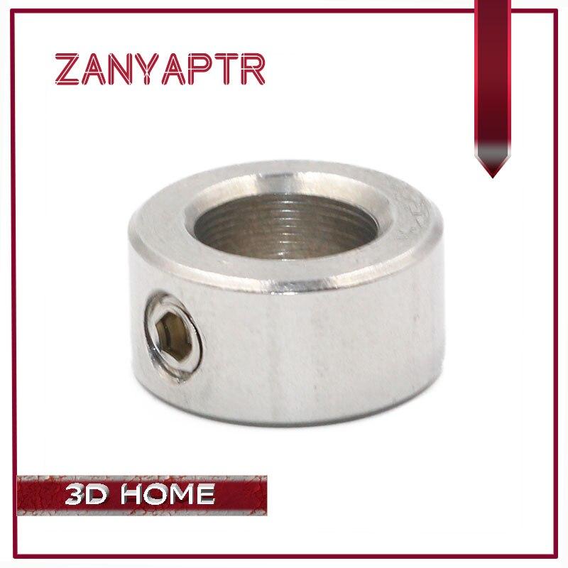 все цены на 5Pcs Openbuilds Lock Collar T8 Lead Screw Lock Screw Lock Ring Lock Block Isolation Column 5mm/6mm/8mm for 3D Printer CNC онлайн