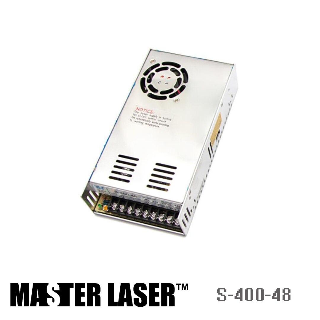 Laser Machine De Marquage de Coupe Moteur Interrupteur D'alimentation Du Pilote DIY Pièces S-400-48 48 v 400 w Alimentation de Commutation