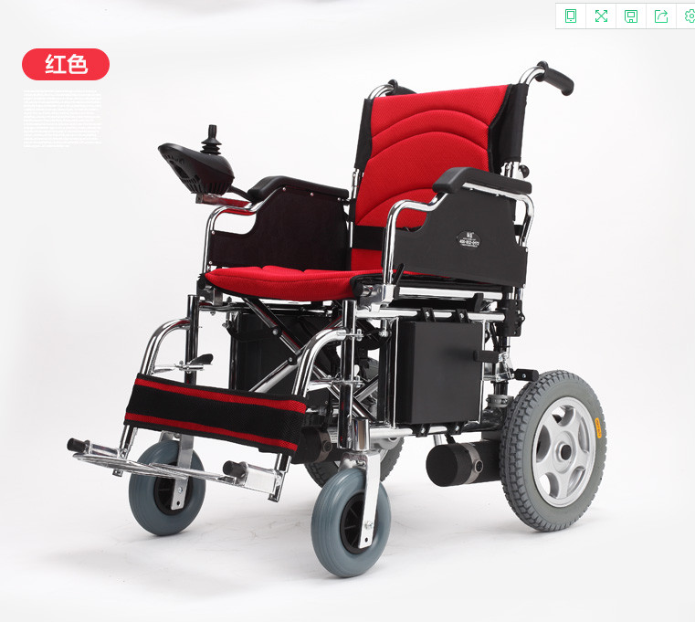 Competitive price portable lightweight electric wheelchair for handicapped outdoor folding power motorized handicapped electric wheelchair