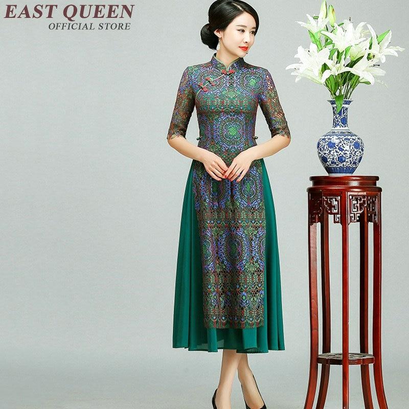 Moderne Femmes Robe Magasin Cheongsam Kk1205 3 2 De Qipao Chinois 4 Vêtements 1 0v8Nnmw