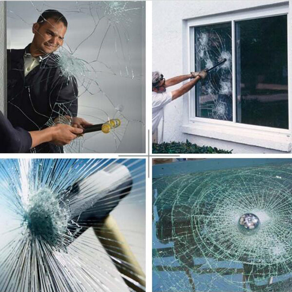 Safety /& Security Window Film Clear Glass Protection Anti Shatter 152cm x 2m