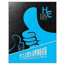 Hearn Men To Black Nose Nose Set Professional Nasal Paper Suction Blackhead Tearing Acne Shrink Pores 10 Pieces стоимость