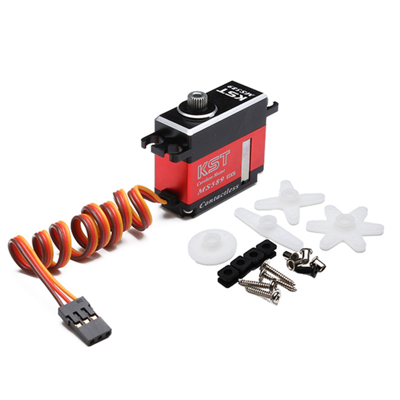 ФОТО Newest KST MS589 Mini Metal Gear Digital Servo For 500 RC Helicopter For RC Toys Models