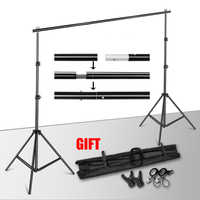 Backdrops Frame Background Support System Photography Studio Background Holder Camera & Photo Accessories + Carry Bag