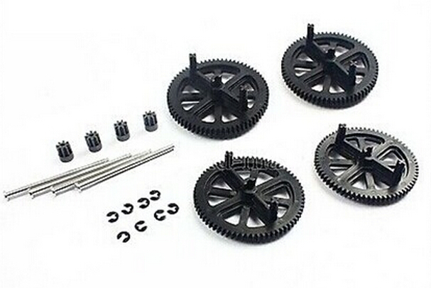 Parrot AR Drone 2 0 1 0 Quadcopter Spare Parts Motor Gears Shafts Black Free shipping