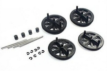 Parrot AR Drone 2.0 & 1.0 Quadcopter Spare Parts Motor Gears & Shafts Black Free shipping