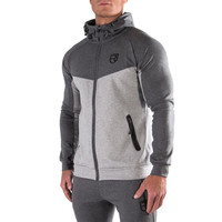 Men Cotton Gyms Hoodies Gyms Fitness Bodybuilding Sweatshirt Crossfit Pullover Sportswear Male Workout Hooded Jacket Clothing