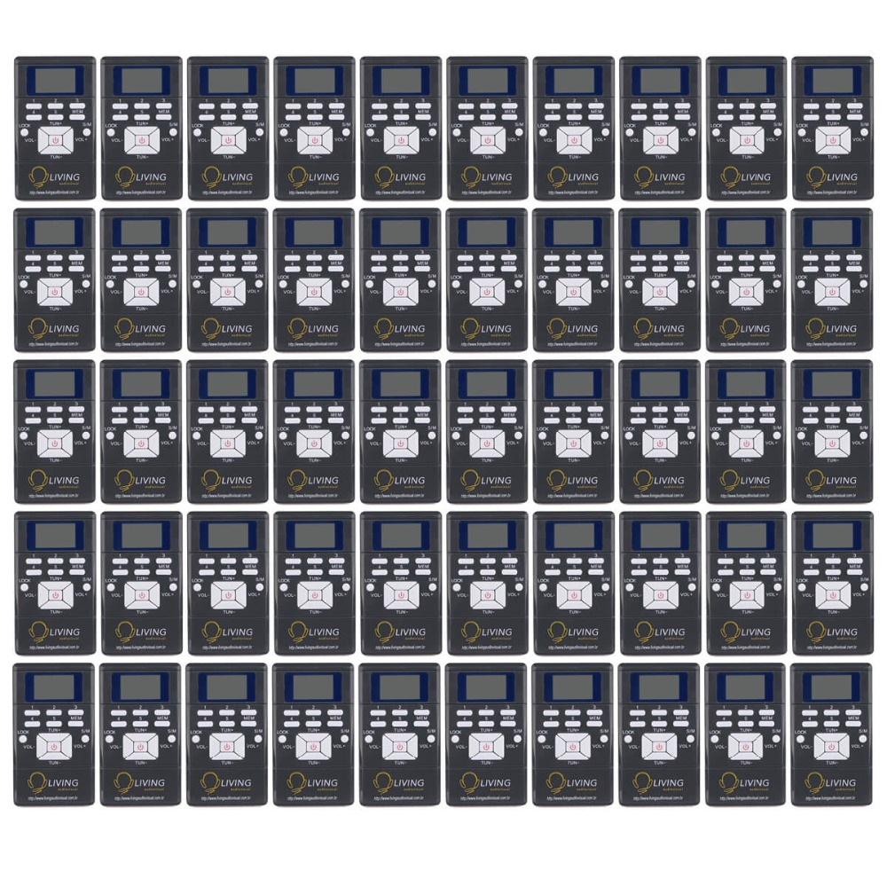 50pcs Black DSP Radio Portable FM Radio Receiver Pocket Radio for Large meeting with Earphone Best Y4305C 100pcs pr13 dsp portable fm radio receiver pocket radio for large meeting simultaneous interpretation with earphone f9213