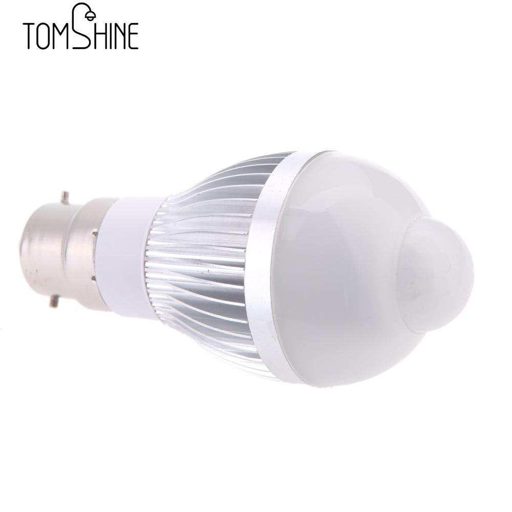 Us 6 63 35 Off B22 3w Led Motion Sensor Light Bulbs Pir Infrared Detection Indoor Outdoor Lighting Lamp For Hallway Stair In