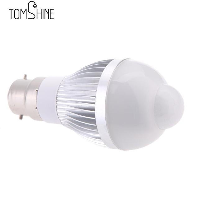 Aliexpress B22 3w Led Motion Sensor Light Bulbs Pir Infrared Detection Indoor Outdoor Lighting Lamp For Hallway Stair From