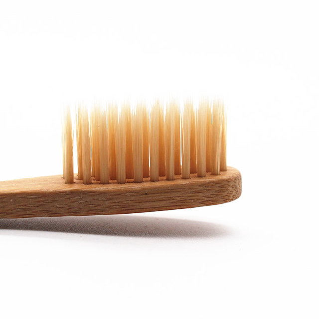 Set of Soft Wooden Toothbrushes