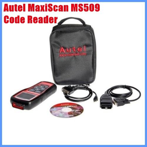 Autel MaxiScan MS509 OBDII / EOBD Auto Code Reader Diagnostic Tool  free shipping сменный модуль для систем фильтрации воды гейзер 501 2 шт