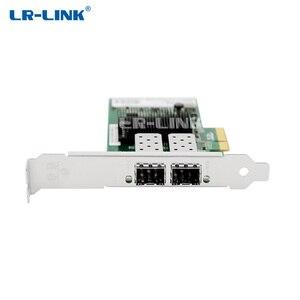 Image 2 - LR LINK 9702HF 2SFP Dual Cổng Thẻ Sợi Quang LAN Card PCI Thể Hiện X1 Mạng Intel 82580 PC NIC