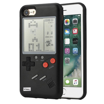 Khisol Retro GB Gameboy Tetris Phone Cases for iPhone 6 6S 7 8 Plus Soft PC Silicone Phone Case Game Console Cover For Iphone X iphone 6