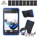 Tablet Case Для Samsung Galaxy Tab A 7.0 T280 T285 case Hybrid броня Kickstand Hard Case для Samsung Galaxy Tab A 7.0 2016 Крышка