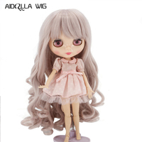 Factory Blyth Doll Wig Special Price on Sale High Quality Toys Shop Resin Big Wavy Hair for Doll 1/3 Bjd Finished Wig
