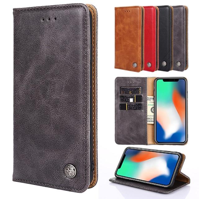 Leather Flip Case For V40 V30 LG K8 K10 Q8 2017 LV5 LV3 2018 For LG G7 ThinQ G6 G5 lite SE X3 X4 Q7 Q6 Q6+ Q6a Aristo 2 RAY X190