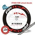 Горячая наружная наклейка для велосипеда FFWD F9R дорожное Велосипедное колесо группа наклейка s подходит для 80/88 дисков для двух колесные накл...
