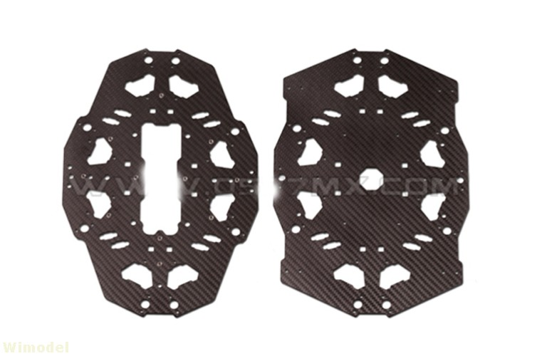 F08159 Tarot T18 Aerial Photography Plant Protection UAV Carbon Fiber Cover Plate Board TL18T03 JMT 1sheet matte surface 3k 100% carbon fiber plate sheet 2mm thickness