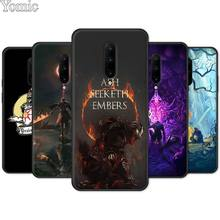 Phone Case for Oneplus 7 7 Pro 6 6T 5T Black Soft Case for Oneplus 7 7Pro Silicone TPU Cover Shell Praise the Sun Dark Souls