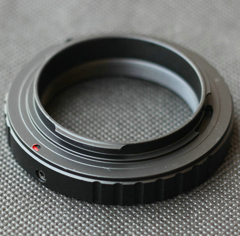 T2 T Mount Lens Adapter Ring For Canon Nikon Sony DSLR NEX E Mount A6500 A7 A7R M4/3 GH4 GH5 Pentax PK Olympus OM Camera