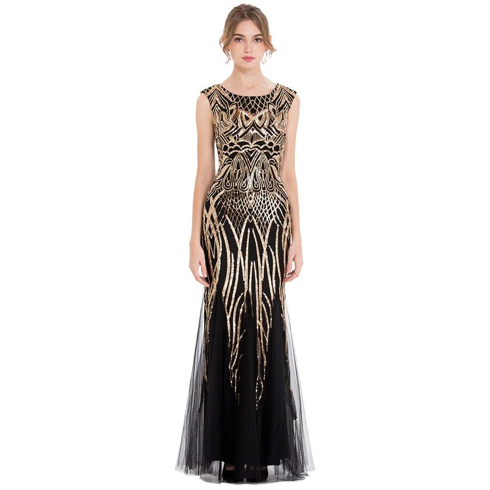 Angel fashions Women s Cap Sleeve Formal Party Mother of Bride Dresses Abendkleid Golden Sequin Reflective