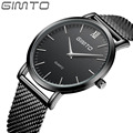 2016Watches men luxury brand Slim simple design of the dial watch quartz in full steel watches casual watch male watch mujer