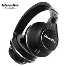 Bluedio U(UFO) Plus High-End Wireless Bluetooth headphones PPS12 drivers wireless headset over the earphones with microphone