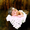 Bolas de Manta Manta de Bebé Recién Nacido Apoyo de la Foto de punto de Ganchillo Bebé Recién Nacido Apoyos de La Fotografía Accesorios Envío Gratis