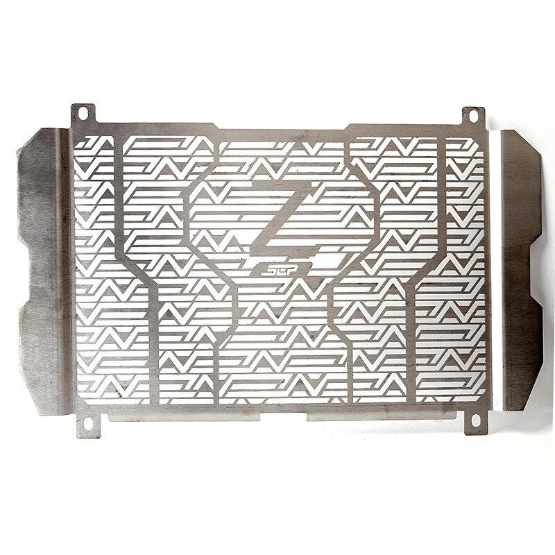 Pour Kawasaki Z900 2017 2018 moto radiateur côté garde en acier inoxydable couverture Grille protecteur garde Z900 accessoires