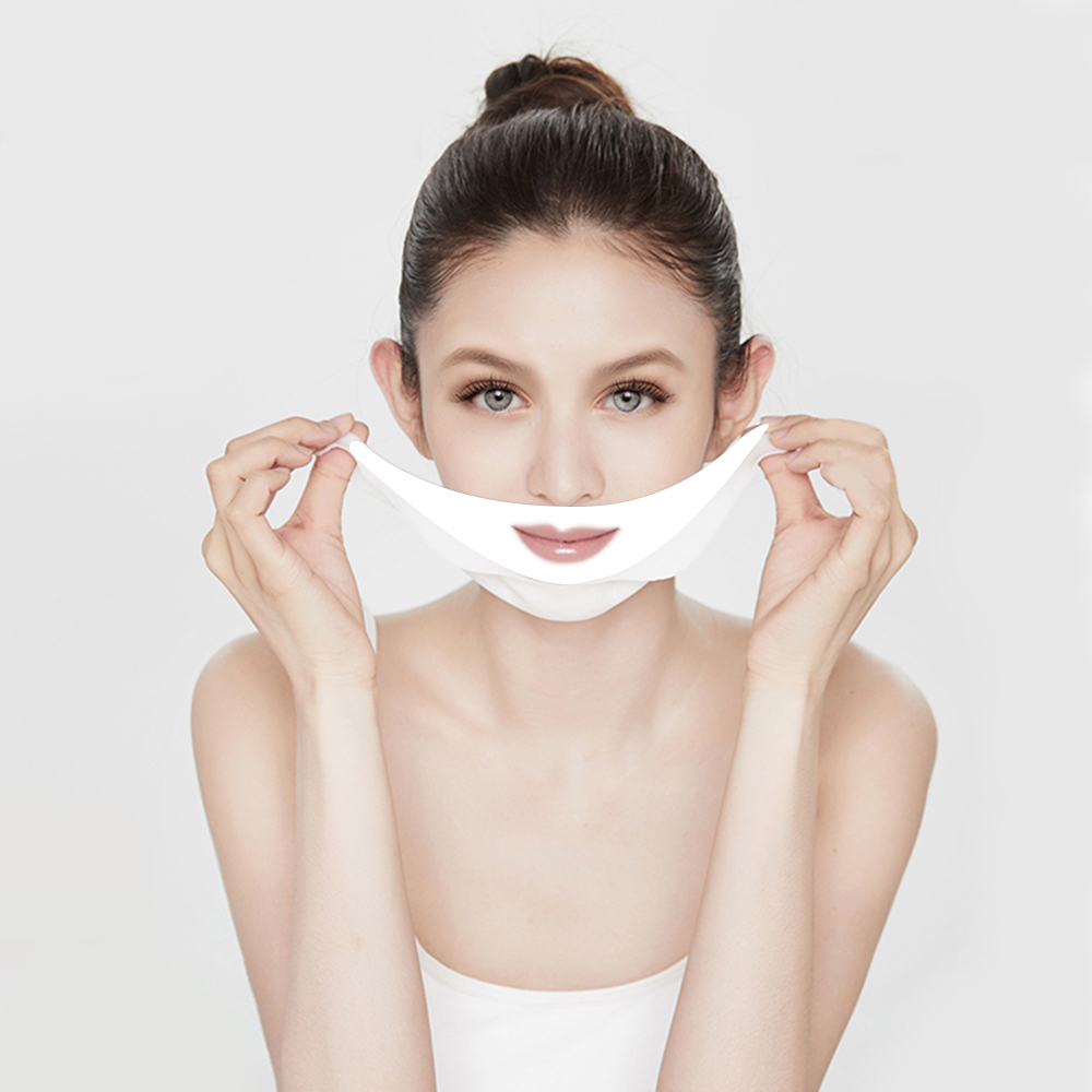 Image 3 - 20pcs/set V Chin Lifting Mask + Hydrogel Eye Patch Mask Moisture Tighten Skin Remove the Dark Circle Wrinkle for Face Care-in Face Skin Care Tools from Beauty & Health