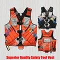 Ferramenta de Segurança de alta Visibilidade Workwear Colete Bolsa de Nylon Refletor Uniforme Arreios para Construção Eletricista Carpinteiro Agrimensor