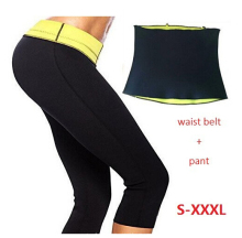 Pants waist Belt New Sportwear Trainer ThermoShaper Top Hot Pants Shaper Slimming Neoprene Fat Burner