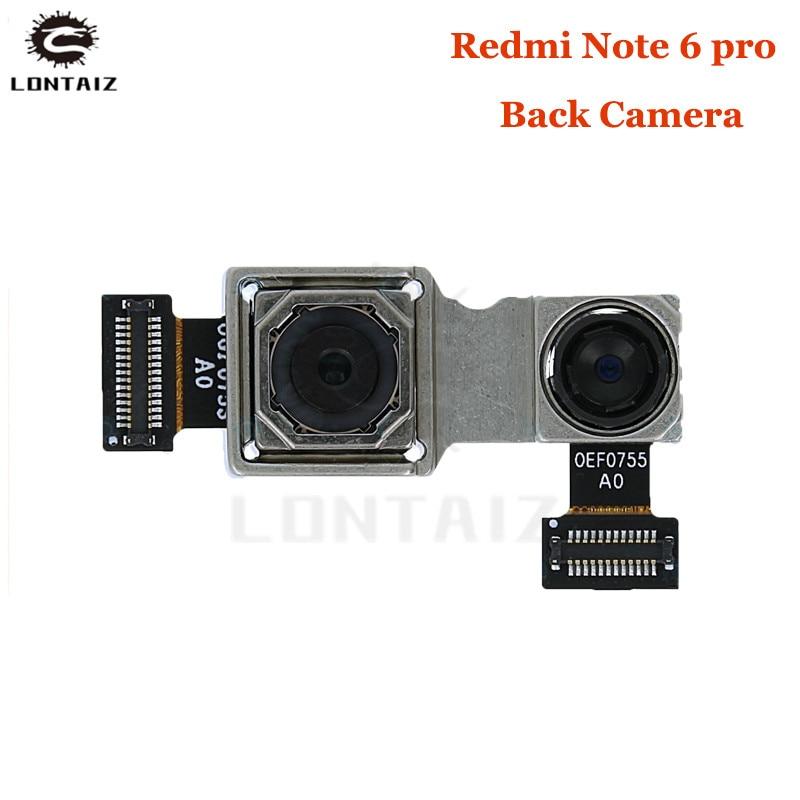For Xiaomi redmi note 6 pro Rear Back Main Camera Module Flex Cable For Xiaomi Redmi Note 6 pro Back Camera Repair Parts Mobile Phone Camera Modules     - title=